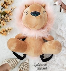 Betsey Johnson Tan Lion Backpack